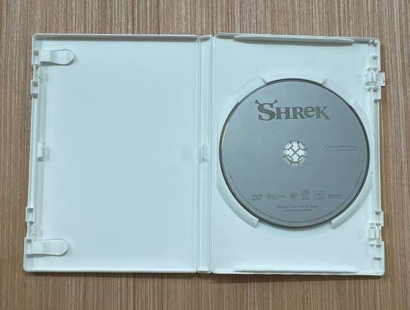 Shrek 2001 Children's And Family DVD Movie