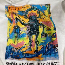 Jean Michel Basquiat Hoodie Size Medium Men  Thumbnail