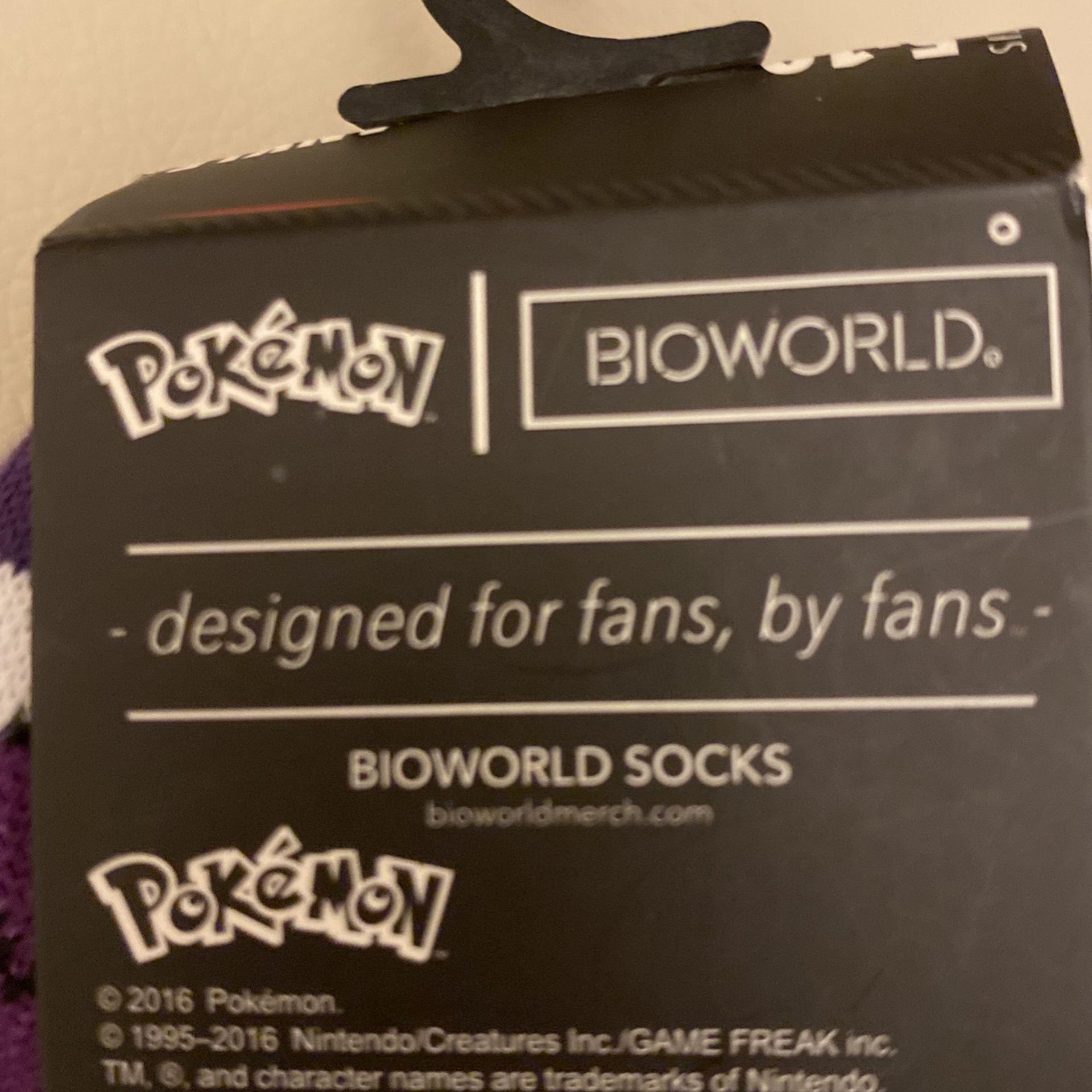Pokemon Socks New Ankle Size 5-10 5-pack