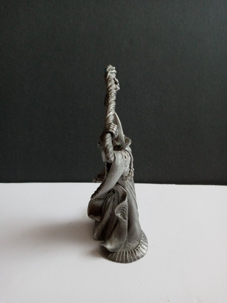 Vintage Perth Pewter Figurine SIGNED