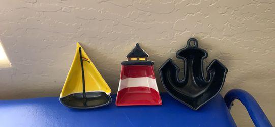 Nautical decor ceramic Thumbnail