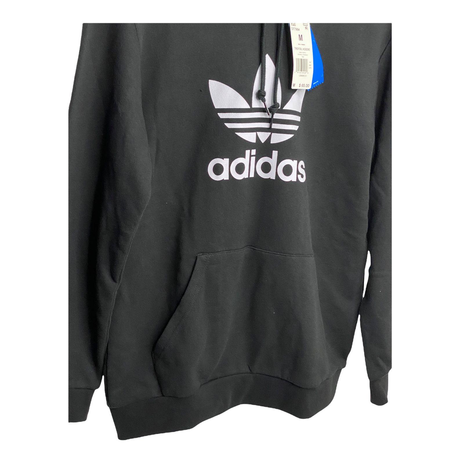 Adidas Originals Trefoil Hoodie Pullover Sz M Mens New