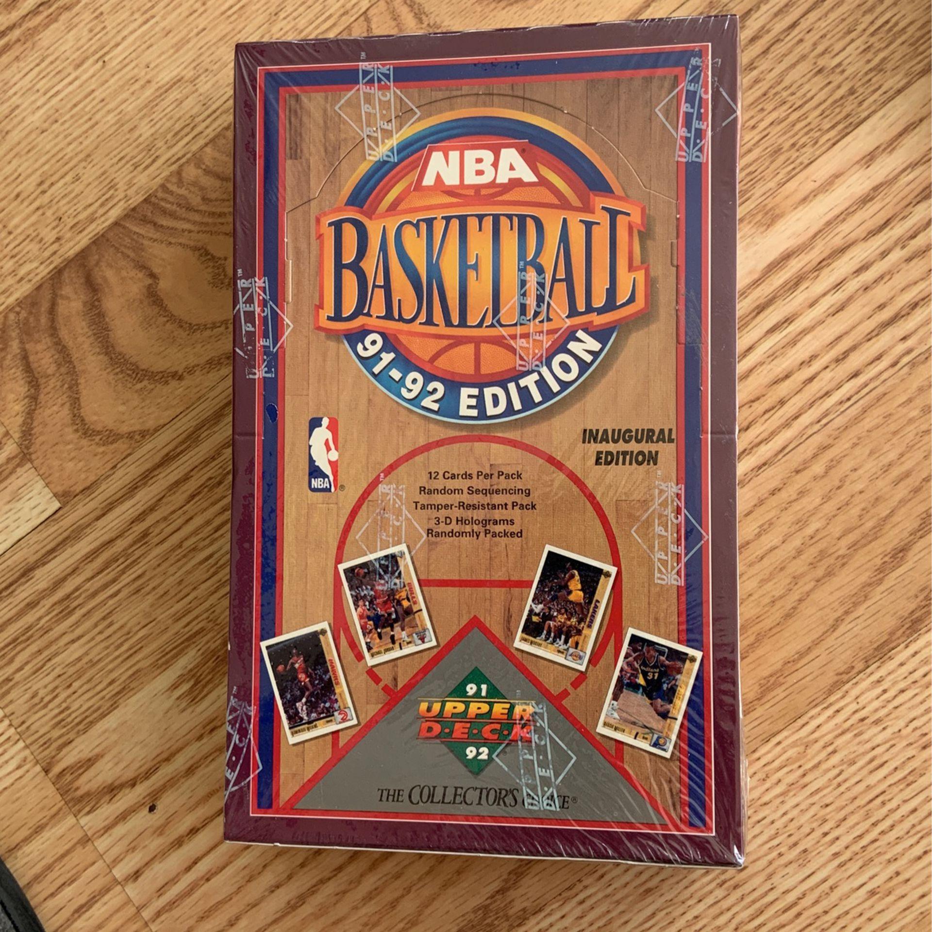 91-92 Upper Deck Basketball