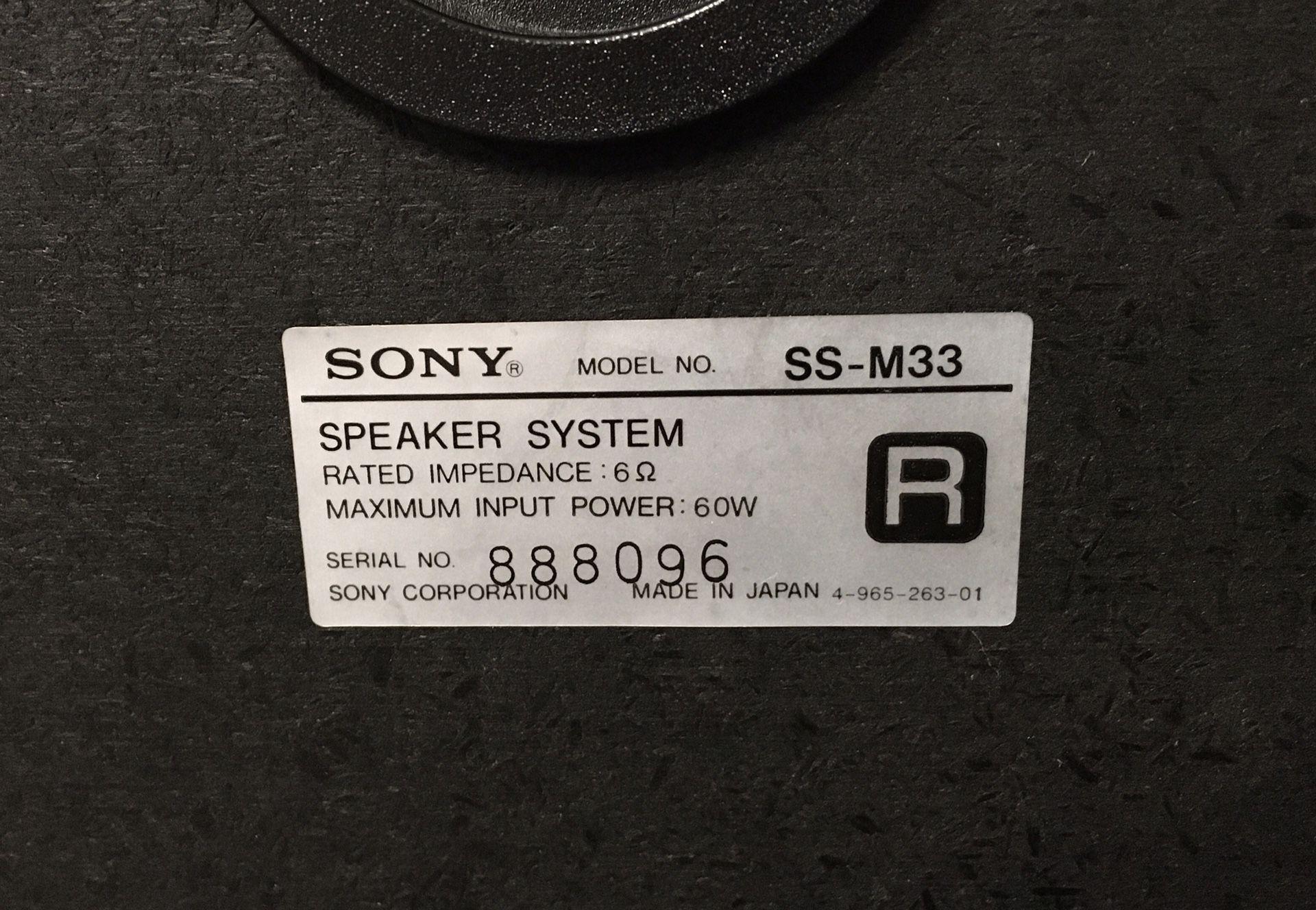 Marantz /Sony  Stereo