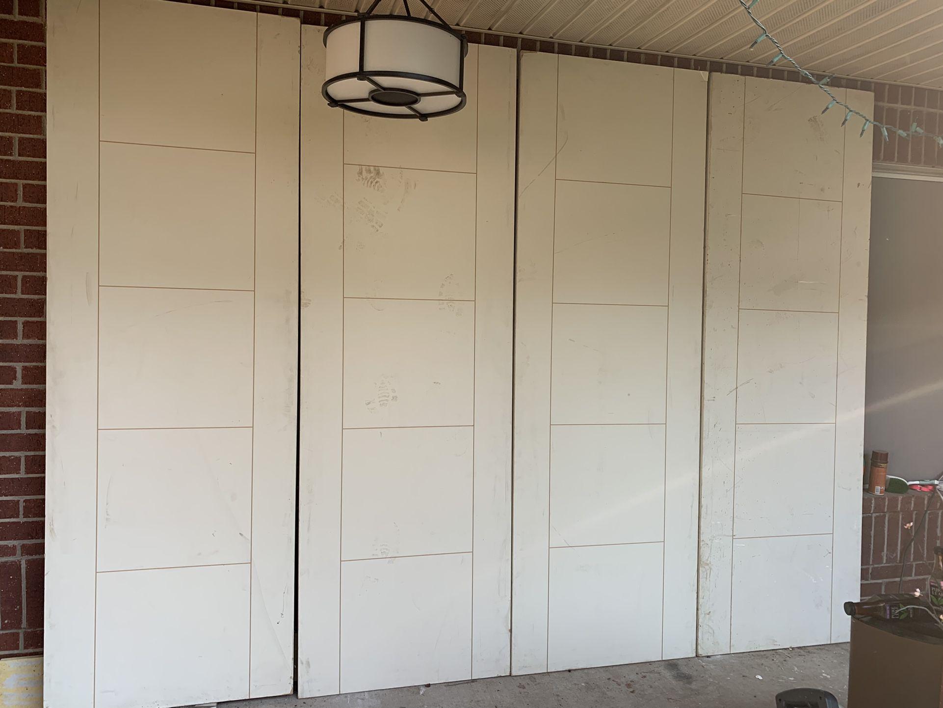 8 'X 32''  Solid Interior Doors