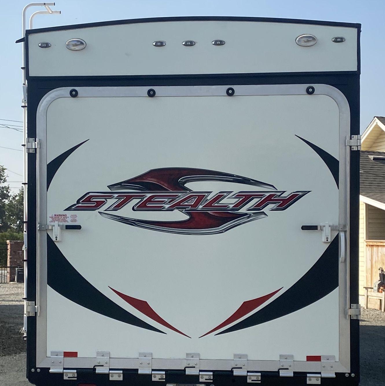 2015 Stealth toy hauler