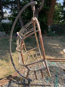 Hanging Rattan Chair Thumbnail