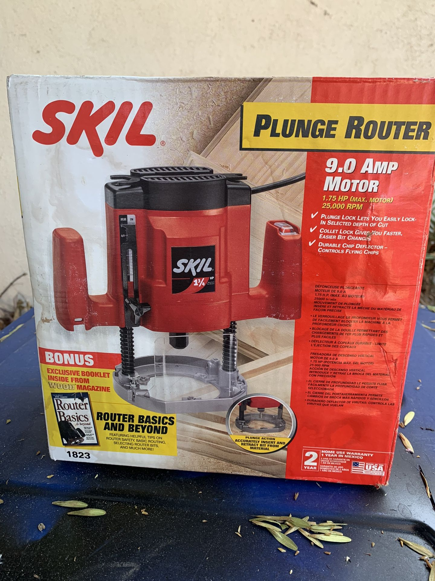 """Skil""""  plunge router"""