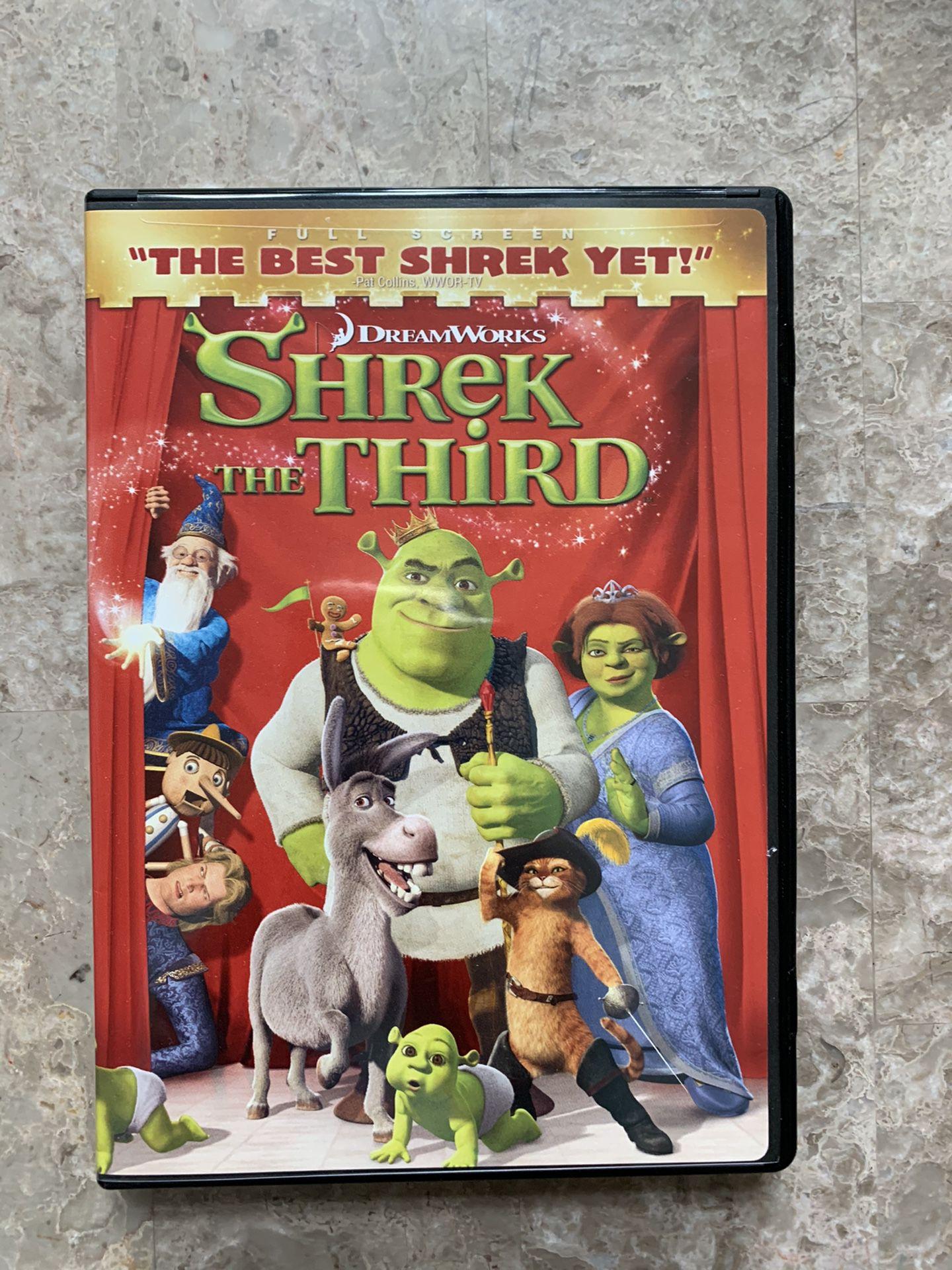Shrek the 3rd third the movie dvd brand new sealed