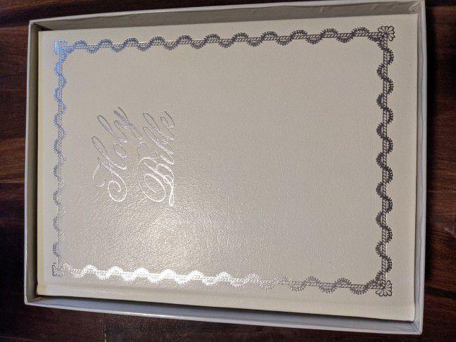 Thomas Kinkade wedding edition family bible new