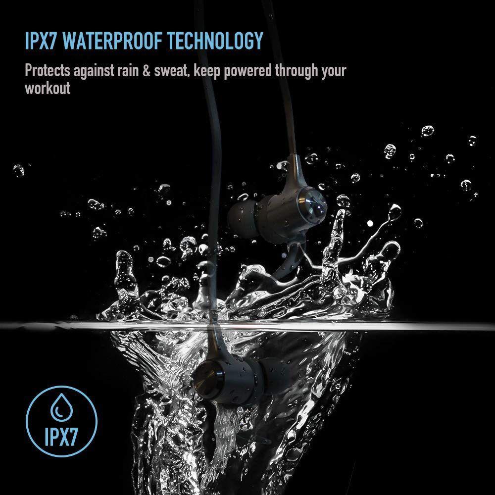 Boltune Wireless Headphones Bluetooth 5.0 IPX7 Waterproof Sports Earbuds SB10