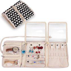 Travel Jewelry Roll,Jewelry Storage Bag Organizer Thumbnail