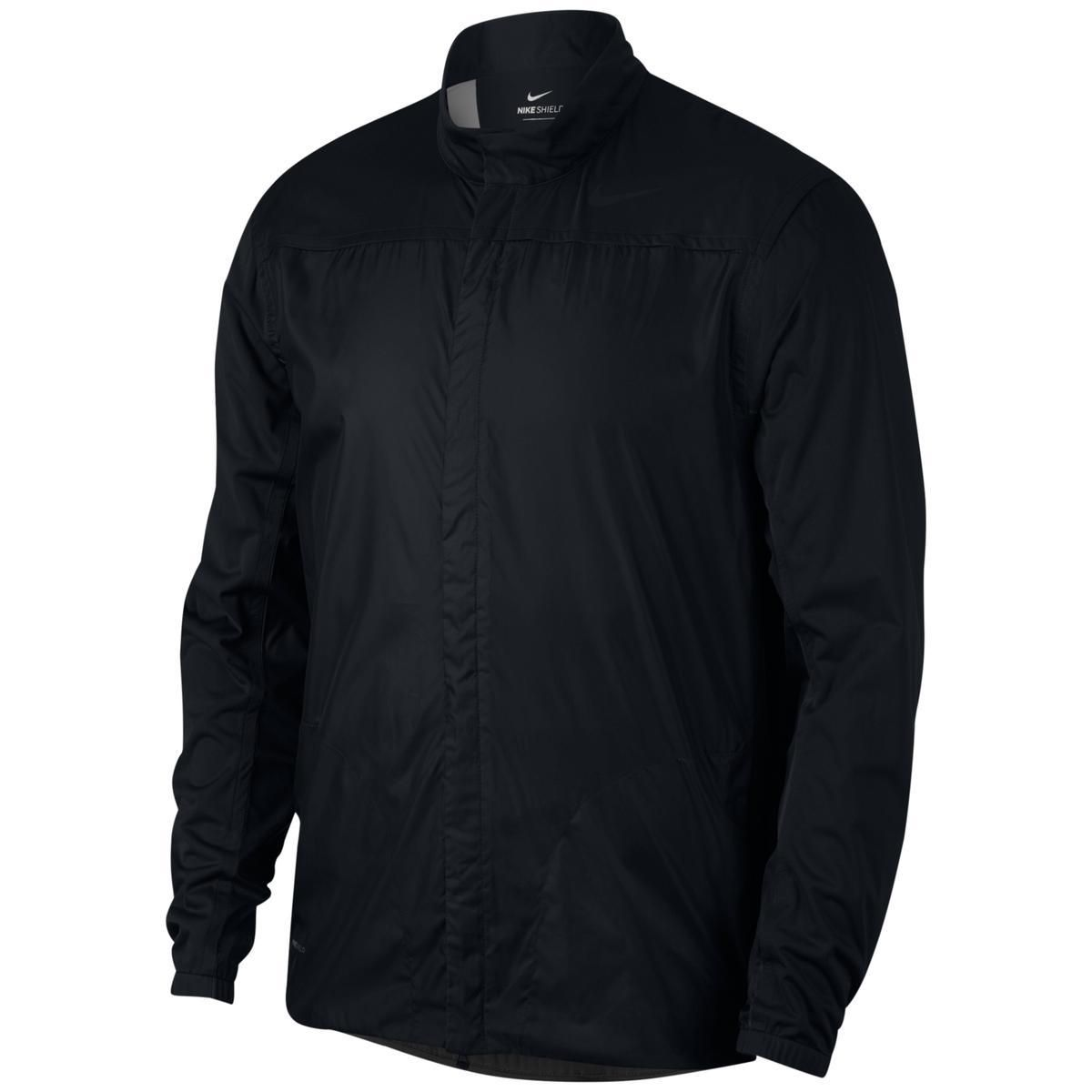 Nike Mens Windbreaker Black Size Large