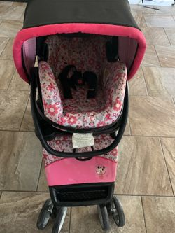 Minnie Mouse Car Seat and stroller Thumbnail