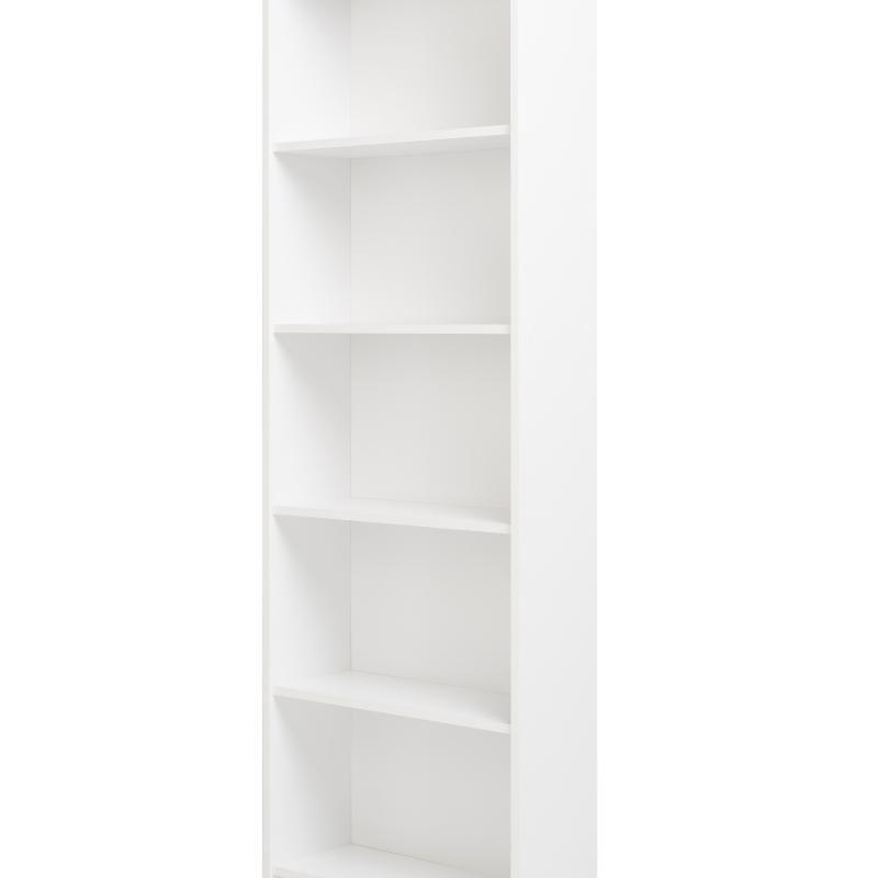 Niche NL3SBKWH Niche Lux 3 Shelf Bookcase, White