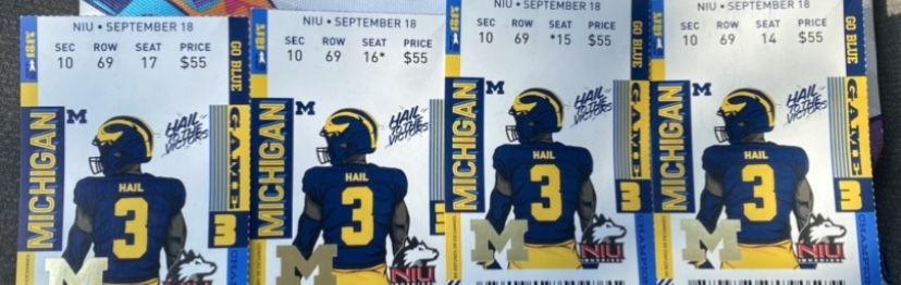 MI Tickets September 18, 2021