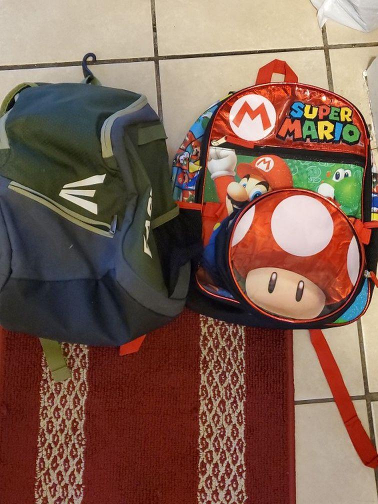 Baseball Backpack And School Backpack