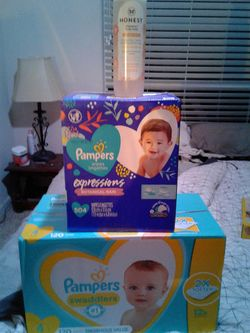 Pampers diapers 120 diapers 508 Pampers wipes direct shampoo and body wash Thumbnail