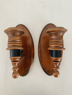Wooden Taper Candle Holders Thumbnail