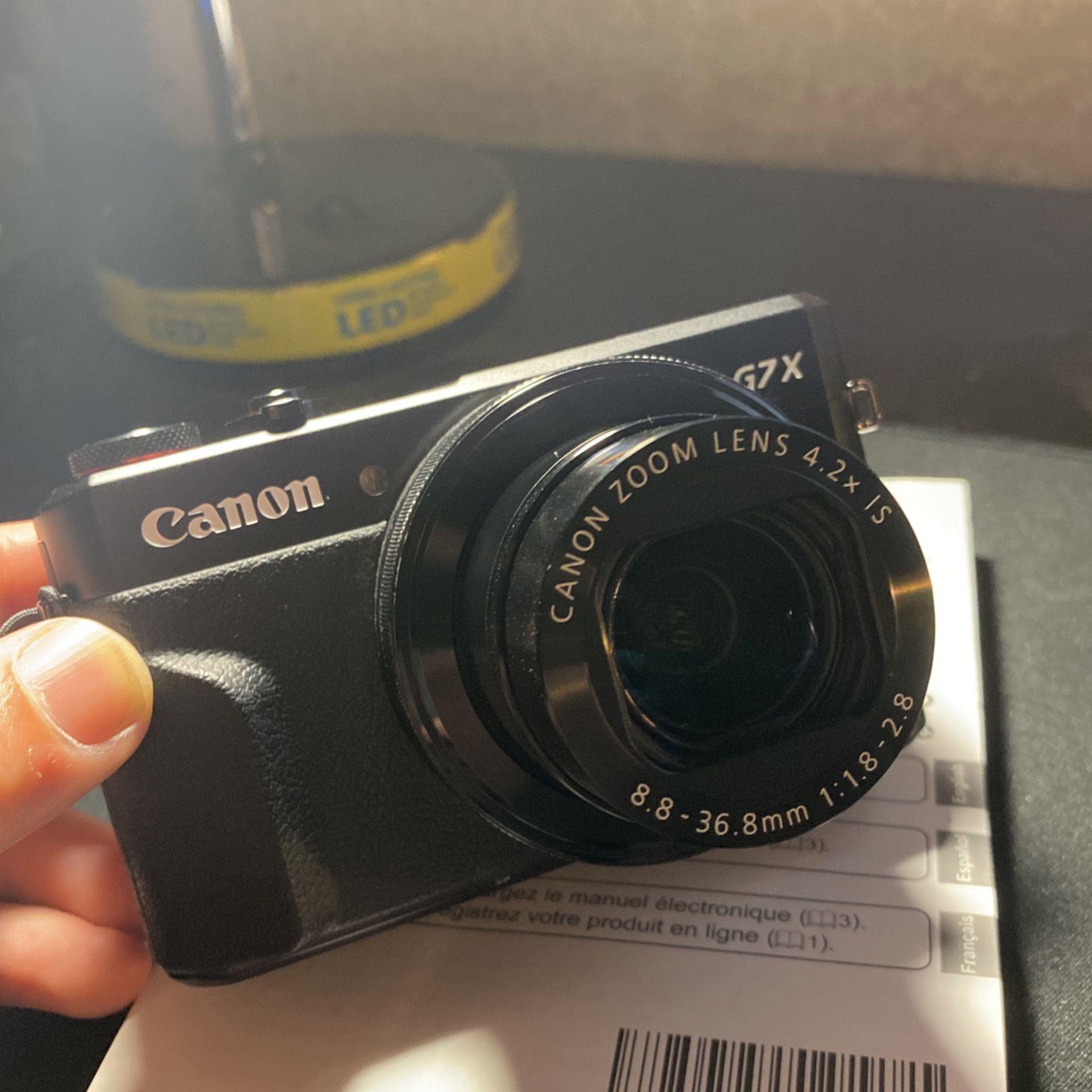 Canon Power Shot Digital Camera (G7 X Mark II)