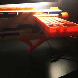 Nerf Gun With 10 Bullets  Thumbnail