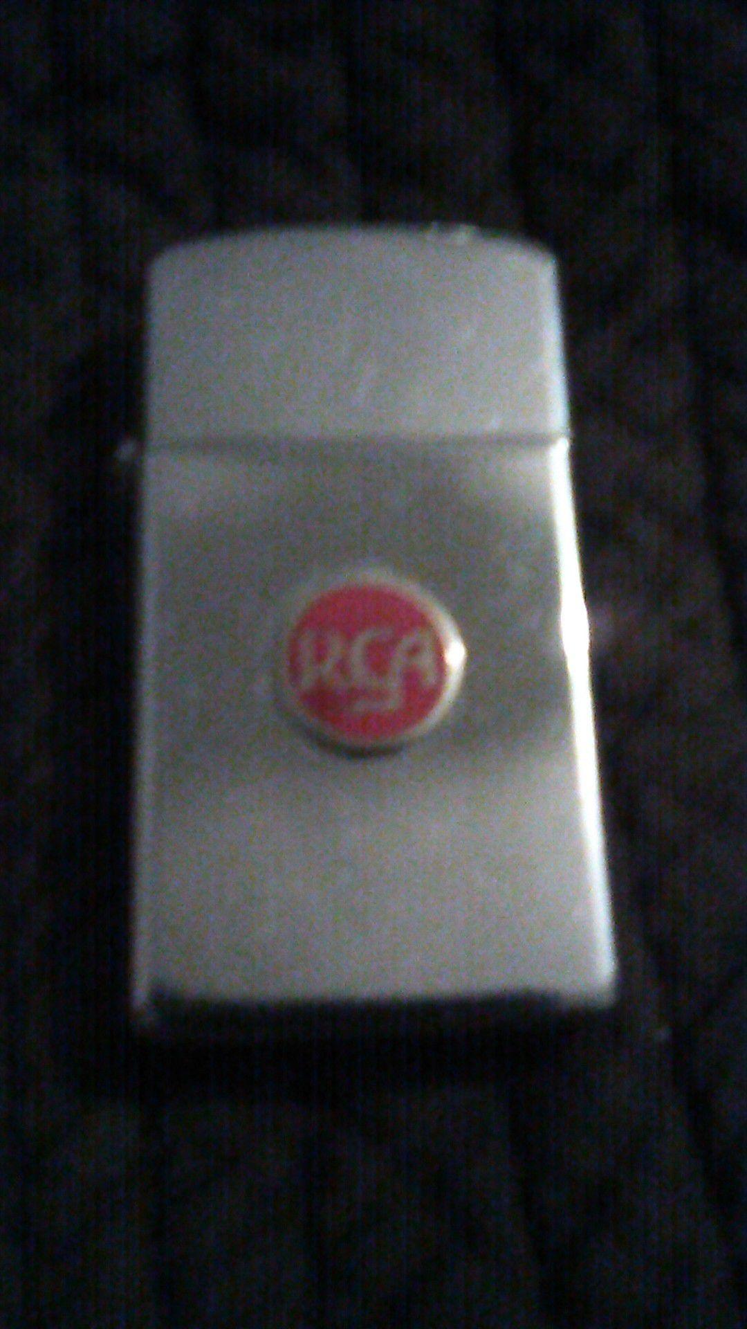 1947 RCA ZIPPO LIGHTER PAT#2517191