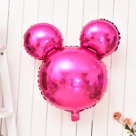 Mini Birthday Party Set Foil Balloons
