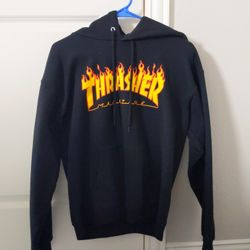 Black Thrasher Hoodie Thumbnail
