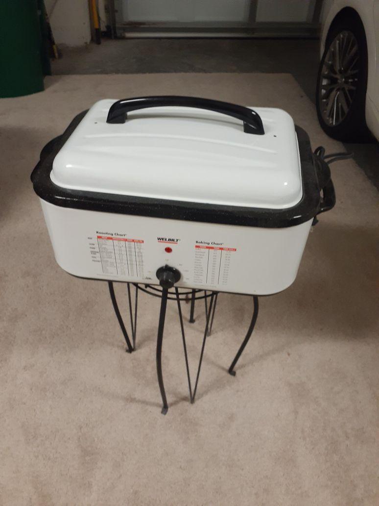 Electric Turkey Baking Pan