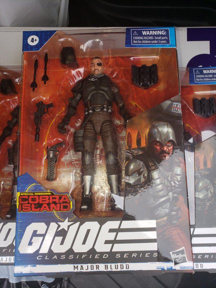 Gi Joe Classified Cobra Island Major Bludd