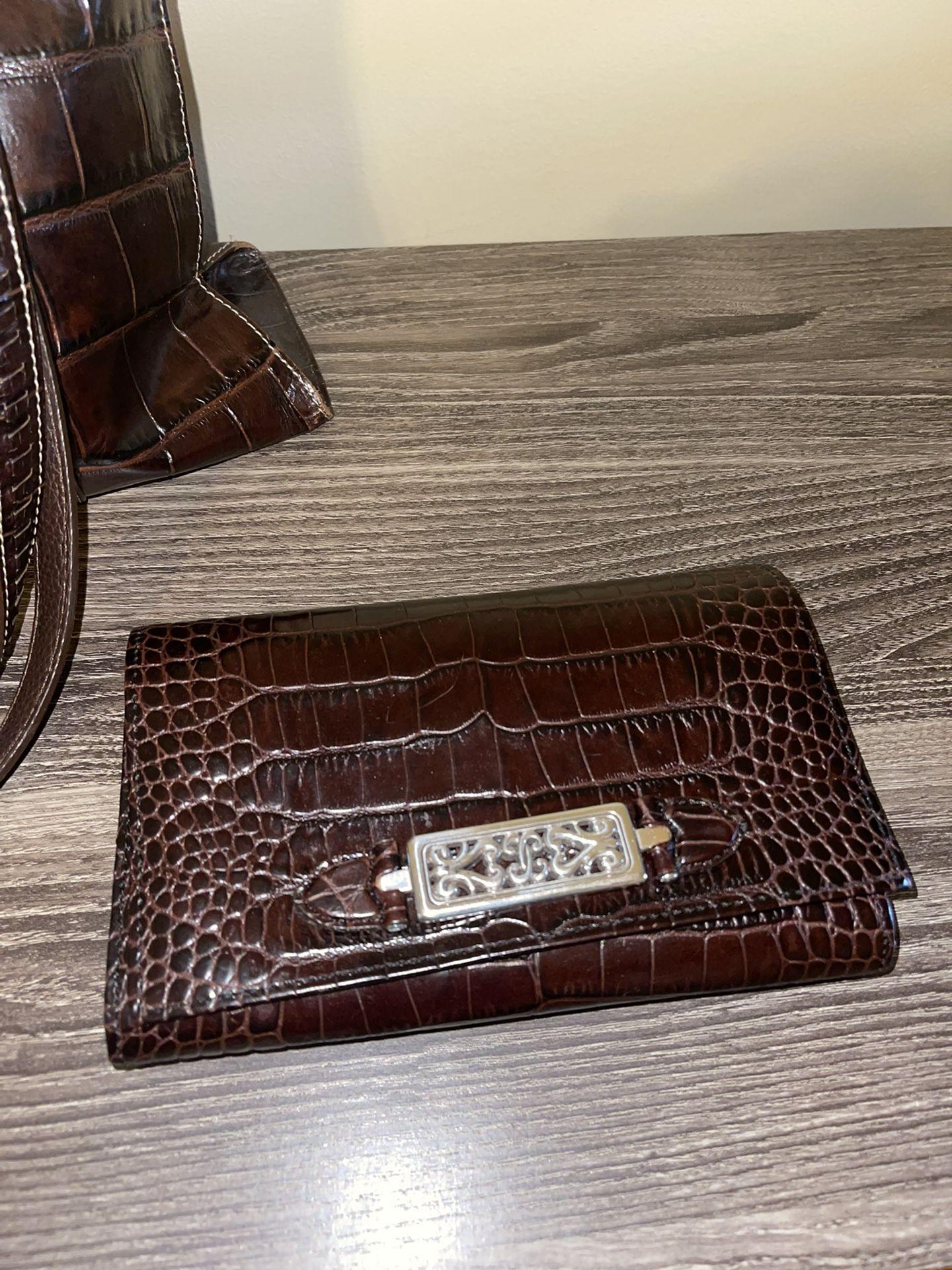 Brighton Brown Leather Purse & Wallet
