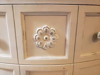 3 Drawer Dresser With Custom Wood Work  Thumbnail
