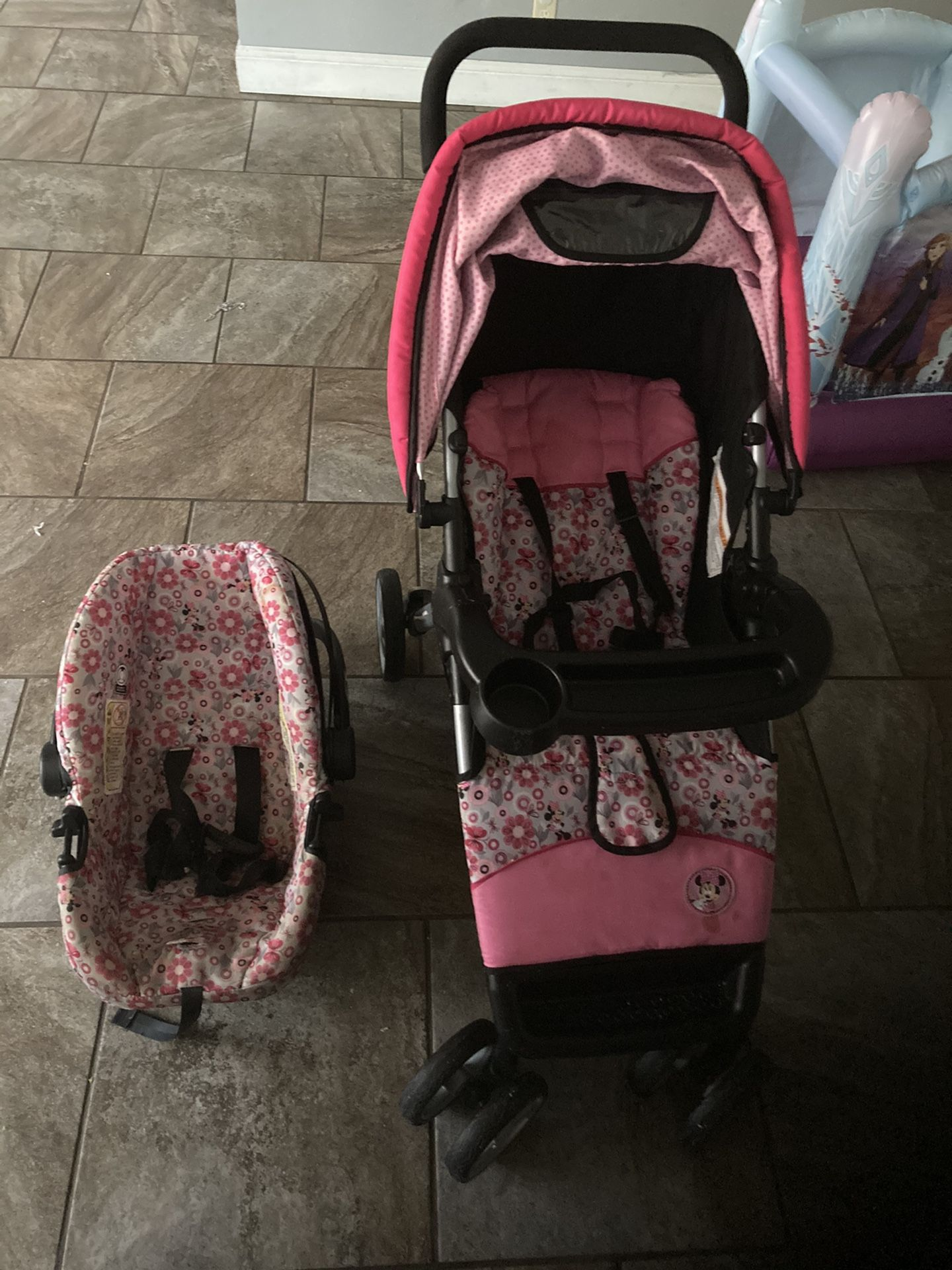 2 in 1 stroller and car seat