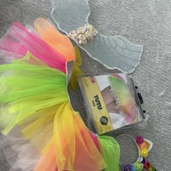 Unicorn Costume With Tutu Skirt and Accessories  Thumbnail
