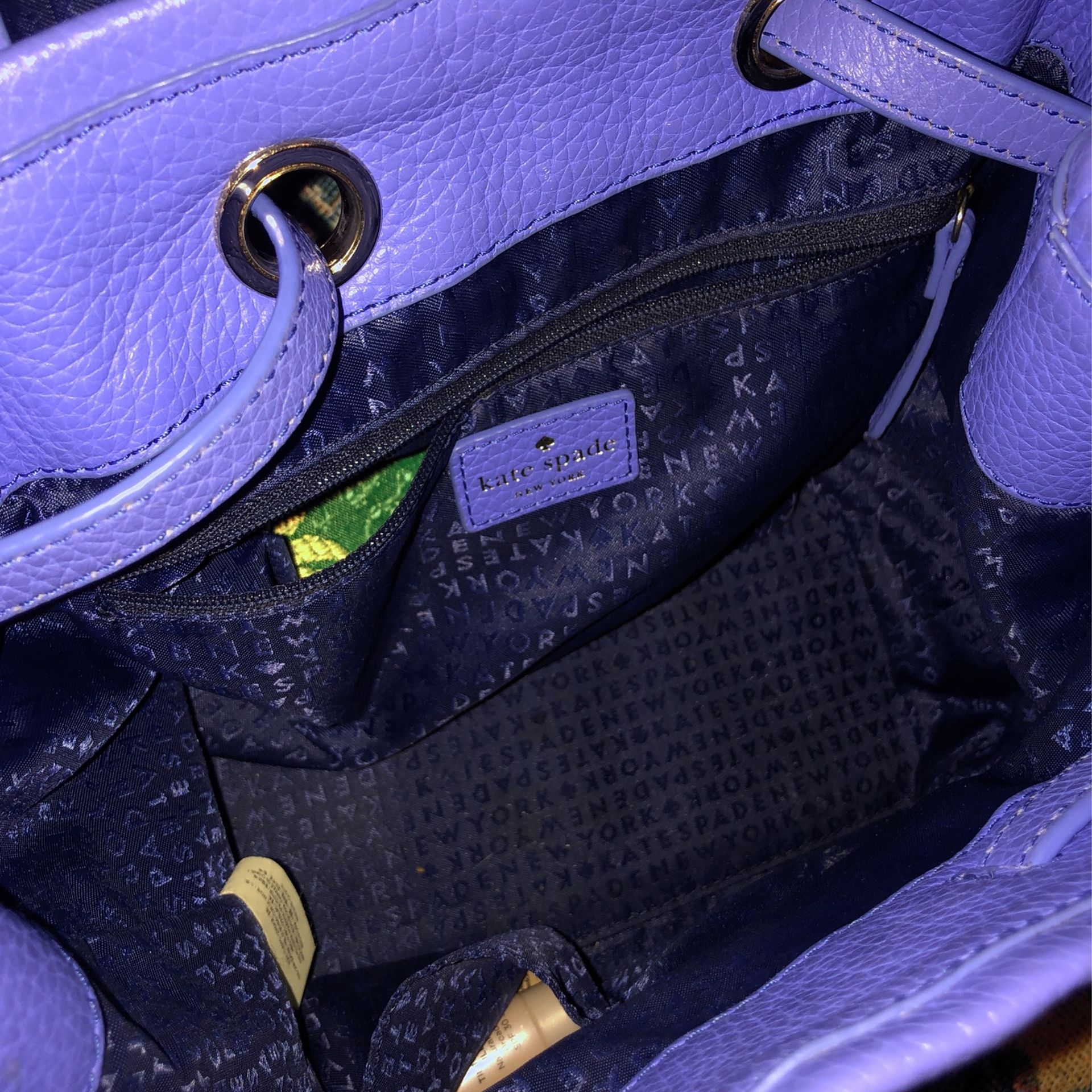 Kate Spade backpack and wallet