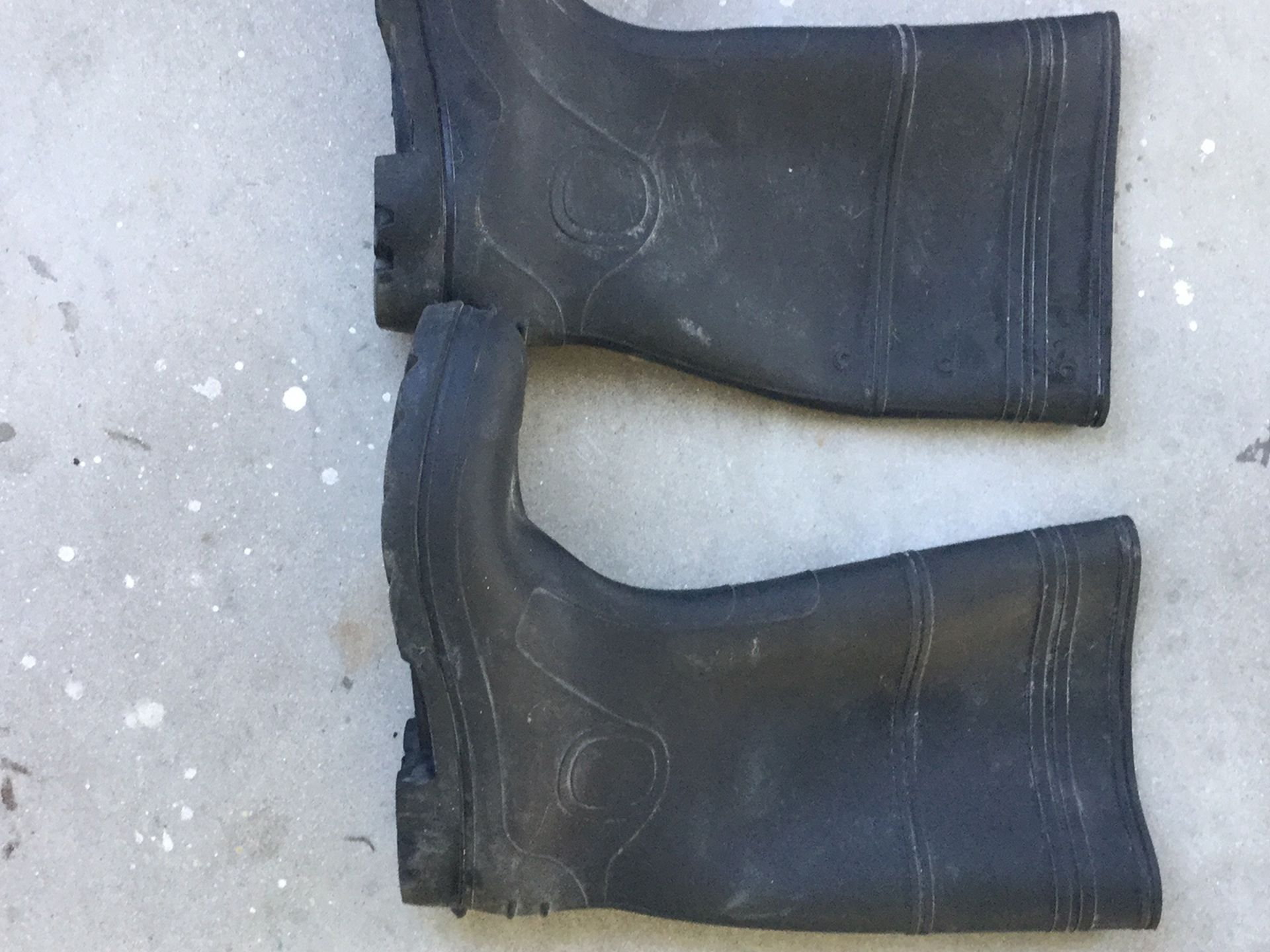 RUBBER BOOTS MENS 11