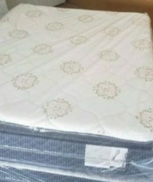 GREAT SALE QUEEN PILLOWTOP MATTRESS WITH FREE BOX SPRING