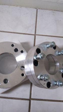Chevy 6 lug to 5 lug wheel spacers adapters Thumbnail