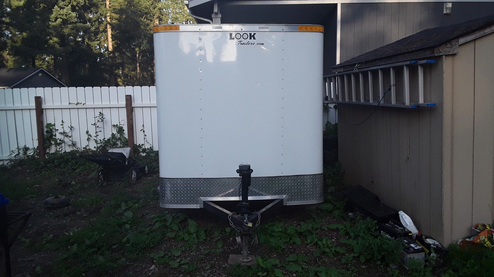 I have a in box utility trailer I would like to trade for a motorhome