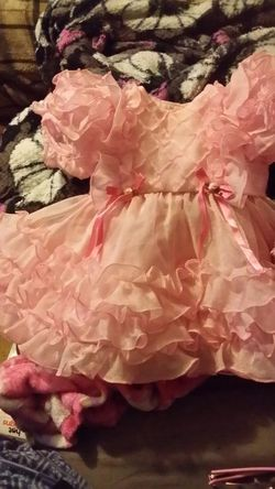 Little baby girl Easter dress and jacket Thumbnail