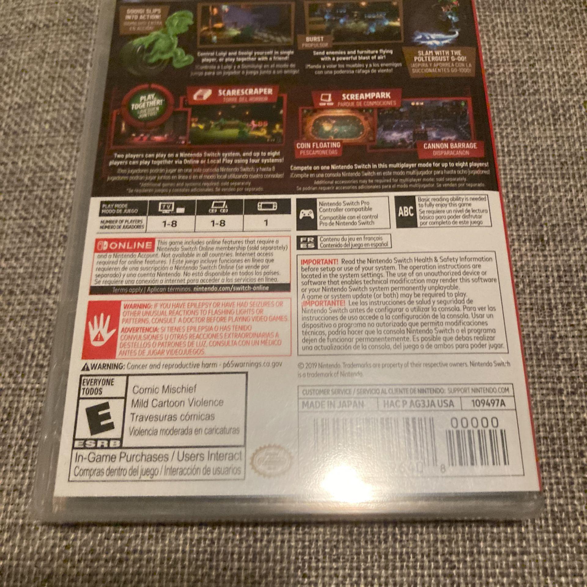 Sealed: Luigi's Mansion 3