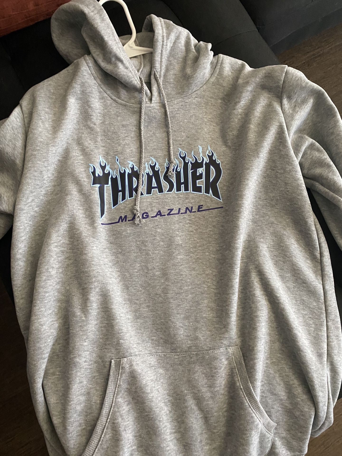 Thrasher Hoodie Sz L