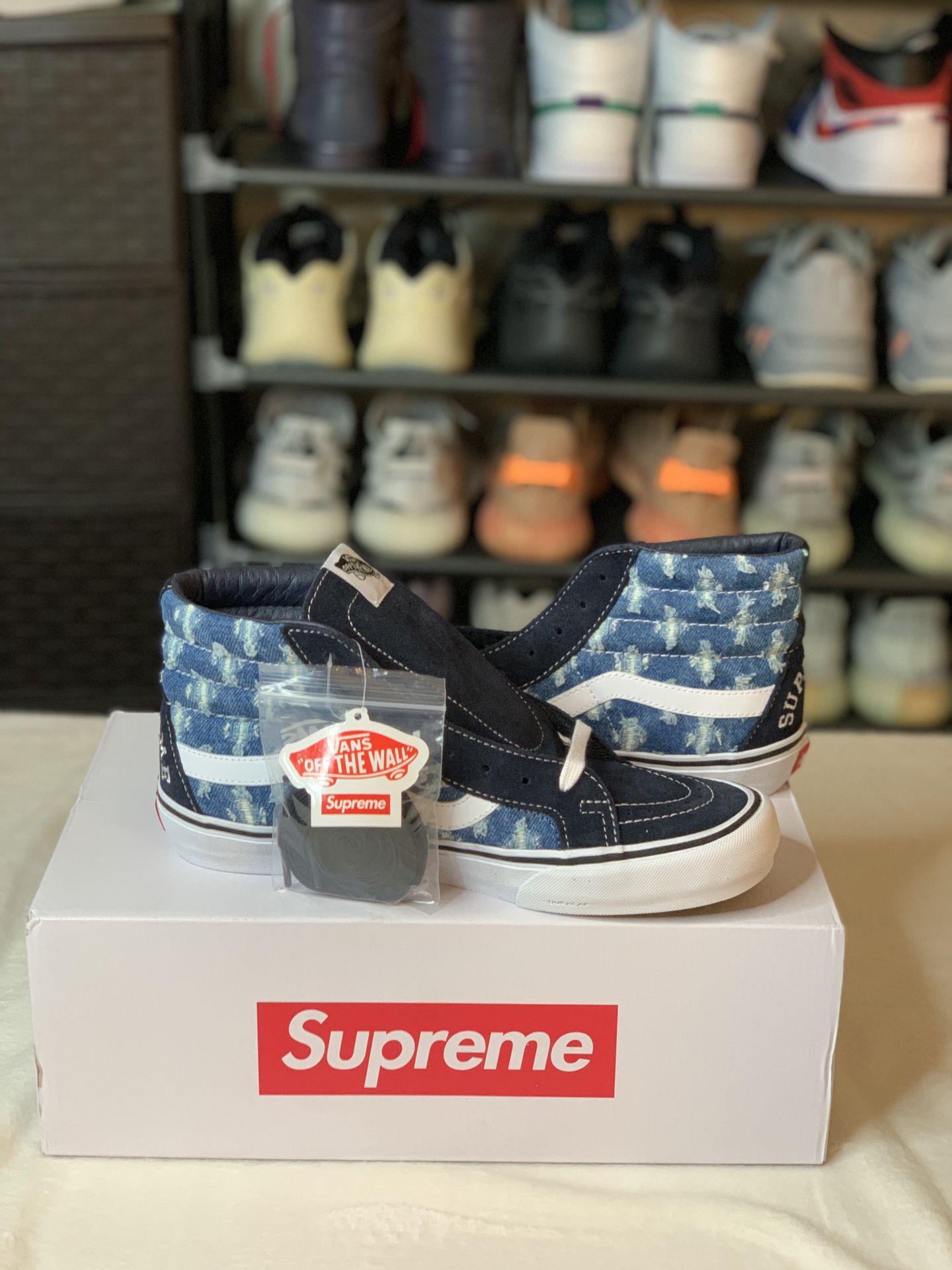 Vans x supreme size 9