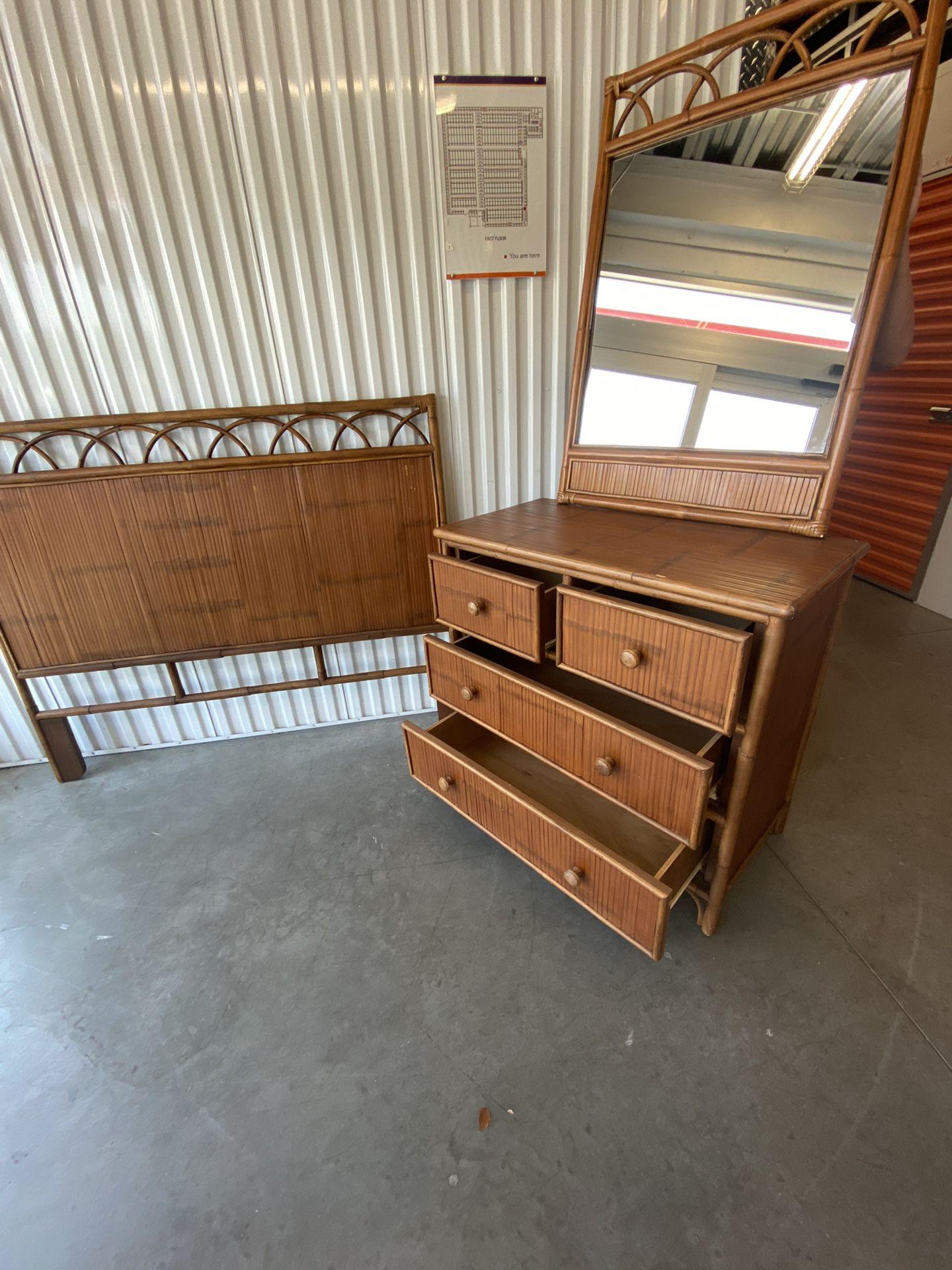 Bamboo Queen Bedroom Set