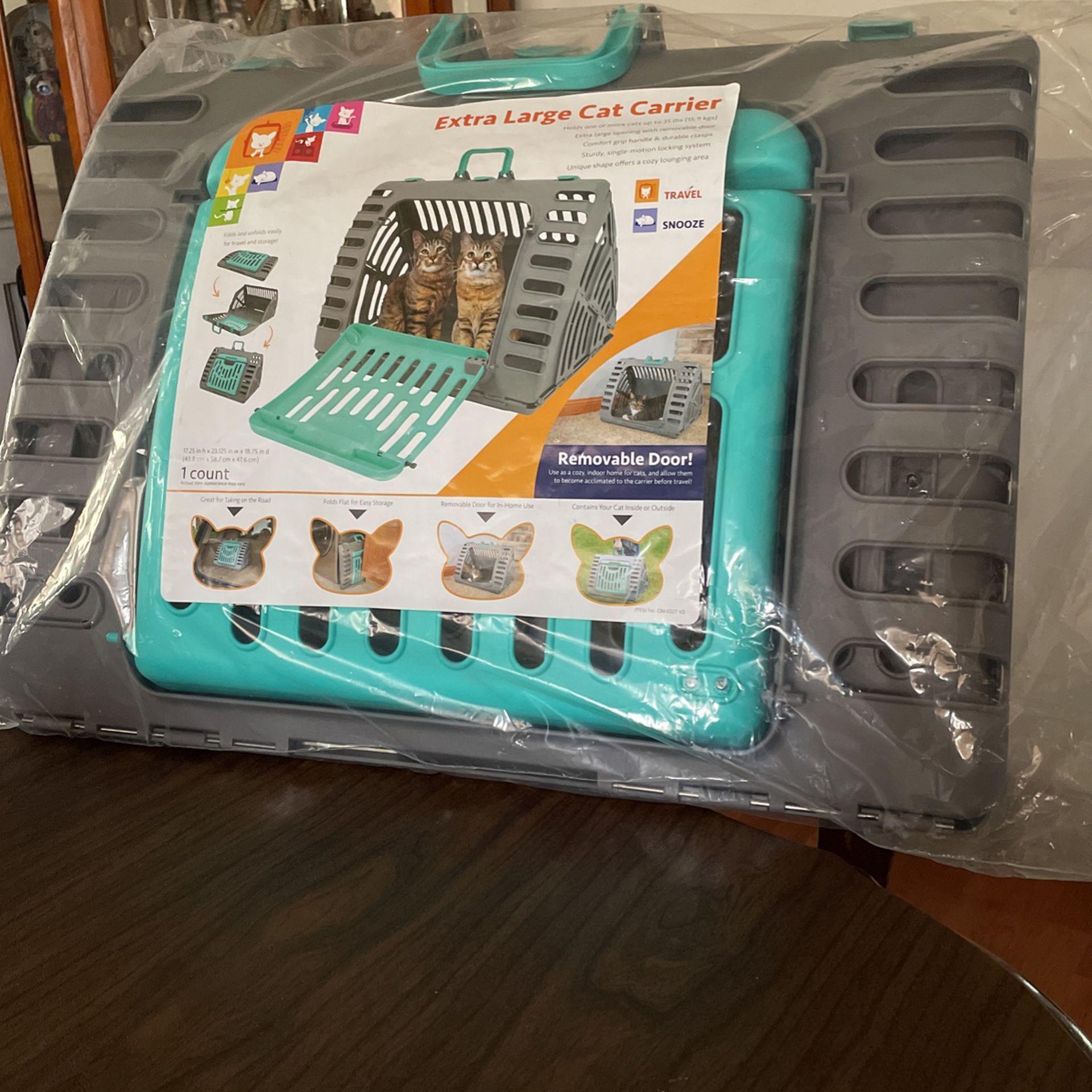 New X-lg SportPet Portable Cat Carrier