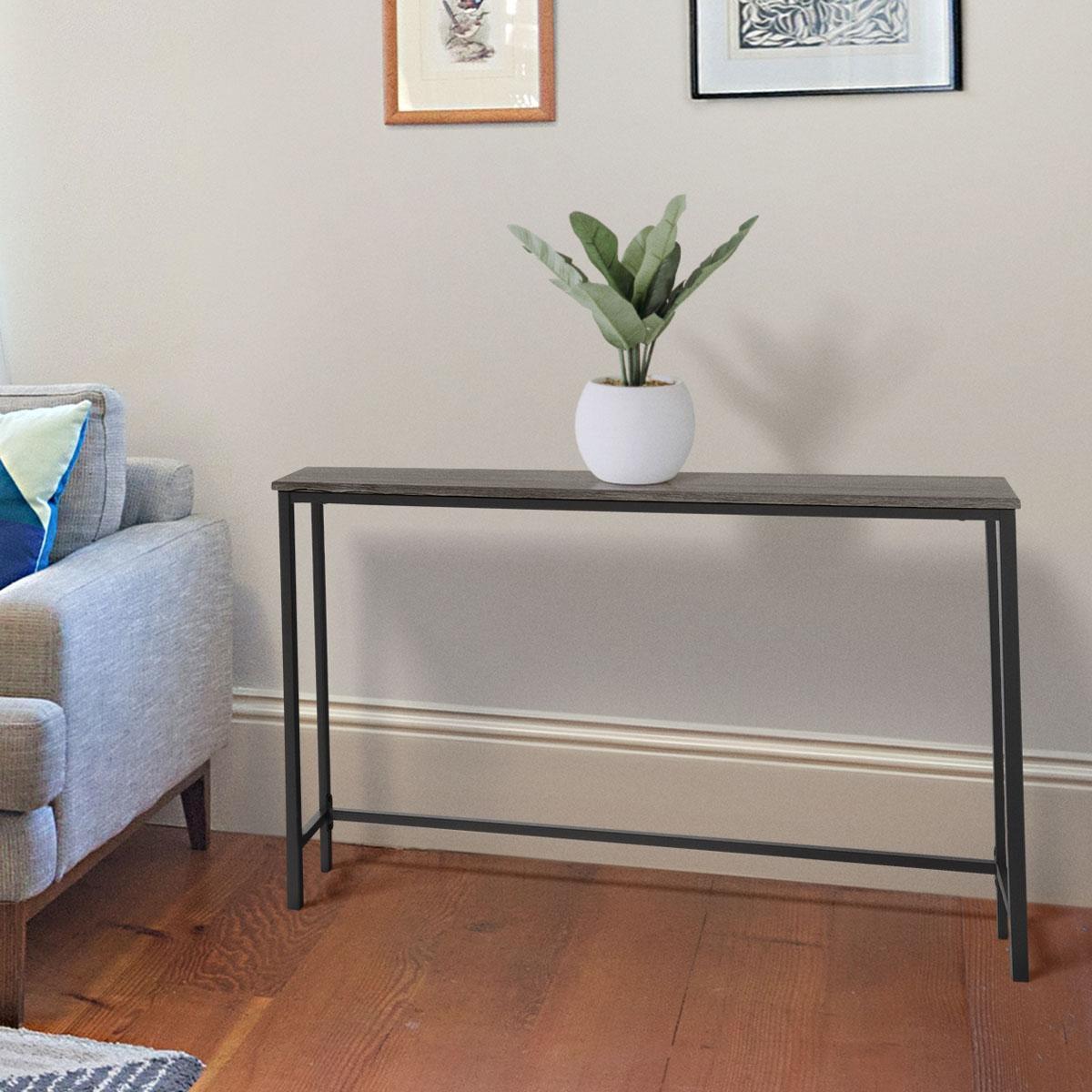 Zenvida Sofa Console Table For Hallway Entryway Living Room