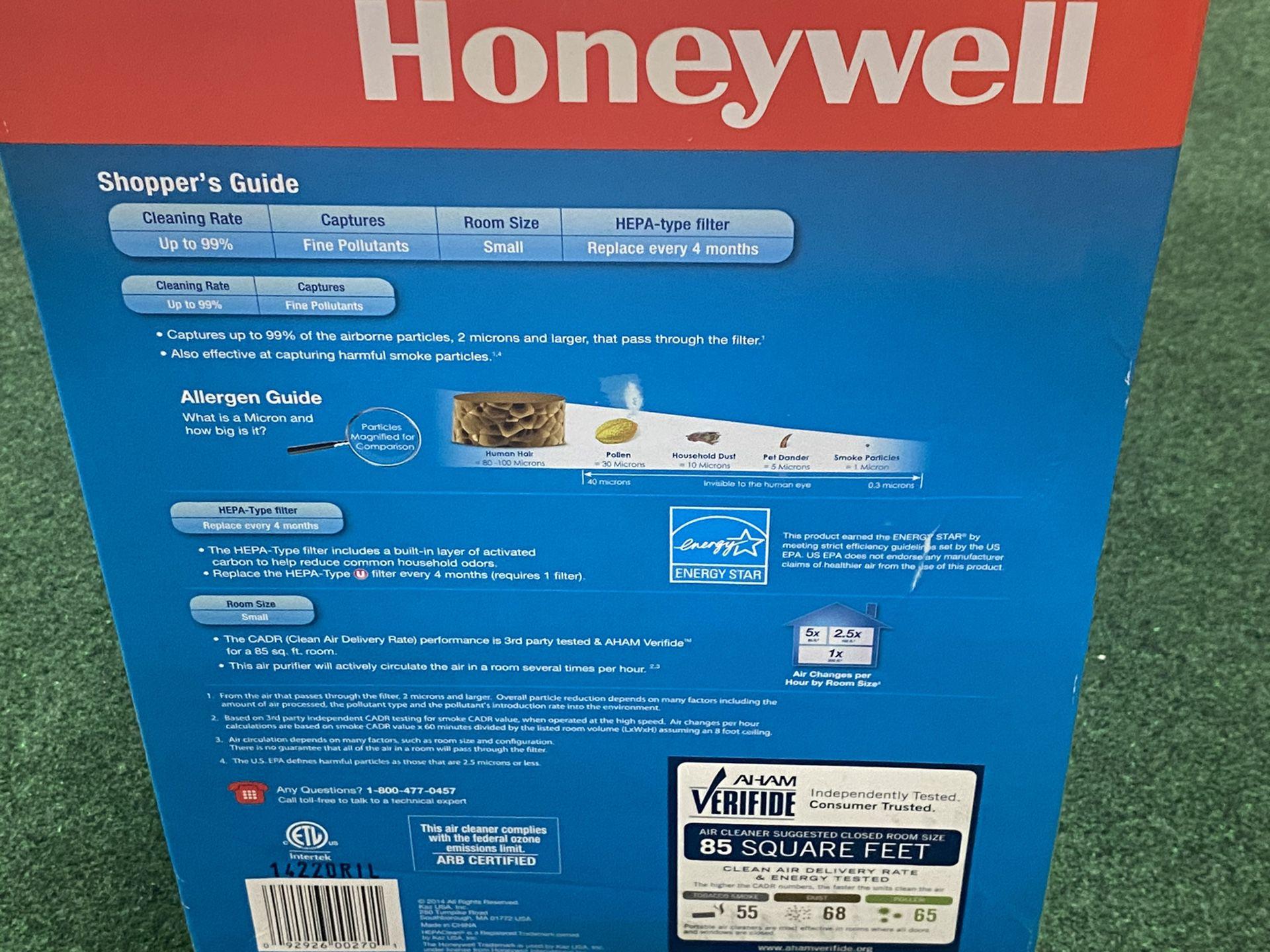 Honeywell Hepa Type Tabletop Air Purifier