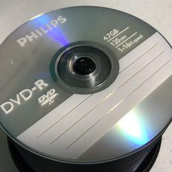 40 DVD-R Philips + Hard Slim Cases Thumbnail