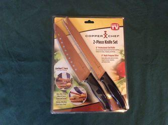 Copper Chef 2-piece knife set Thumbnail