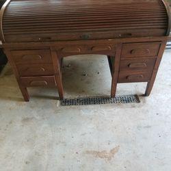 Vintage Roll Top Desk Thumbnail
